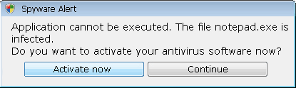 Antispyware Soft Warning